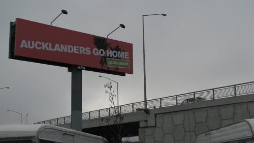 Aucklanders go home original