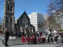 Christhurch's Cathedral Square