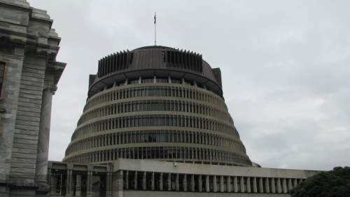 New Zealand's Parliament Building. Fugly.