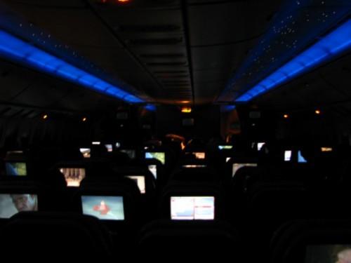 Emirates Plane Ceiling