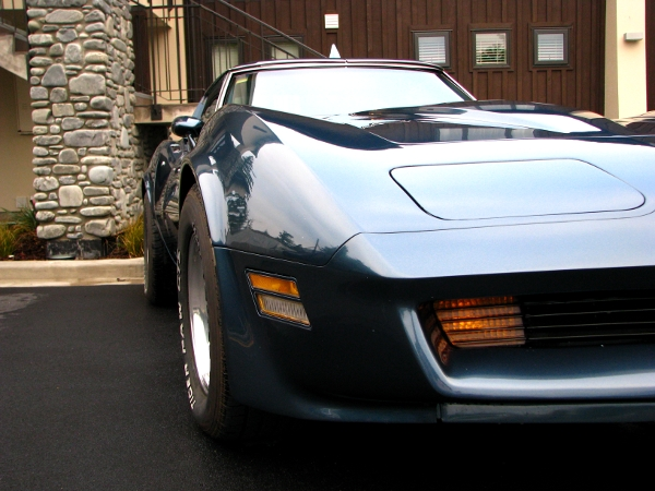 1980 Corvette in Hanmer, New Zealand